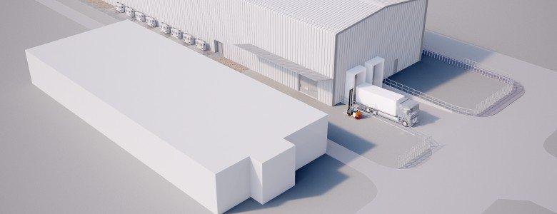 3D Model - ColdStoragePITCHED
